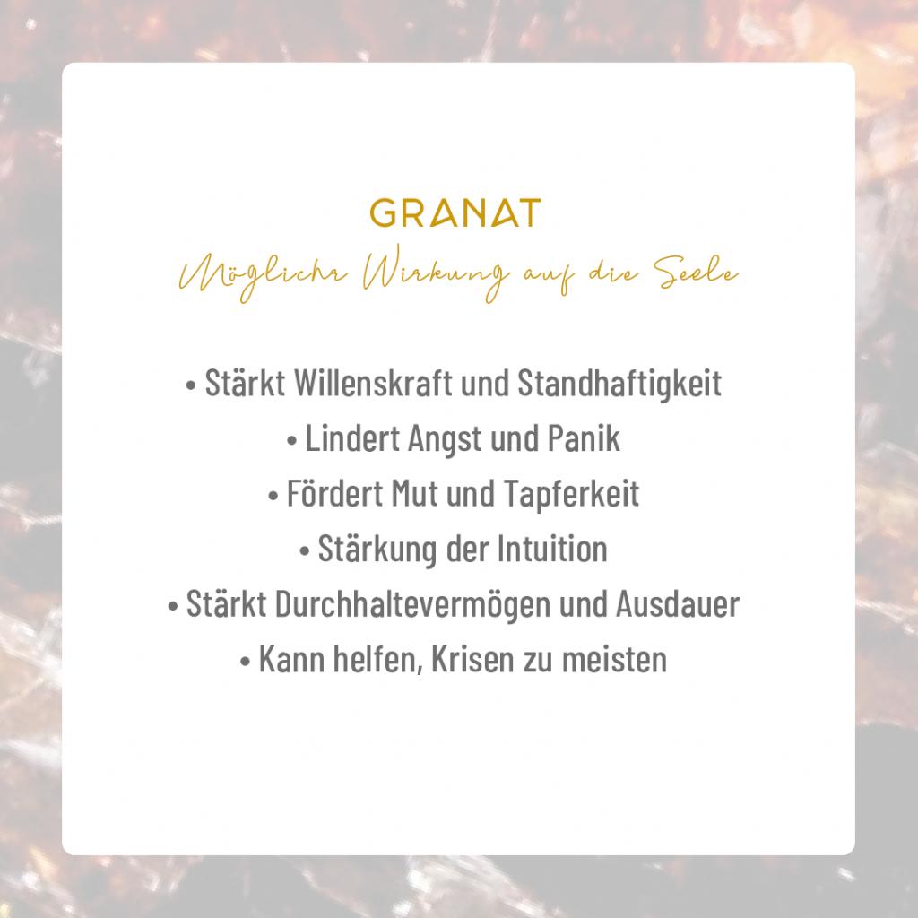Moonay Granat – Edelstein für Frauen. Granatarmband. Edelsteinarmband.