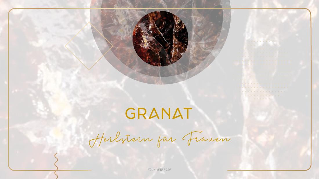Moonay Granat – Edelstein der Leidenschaft und Sexualität. Edelsteine und Heilsteine für Frauen.