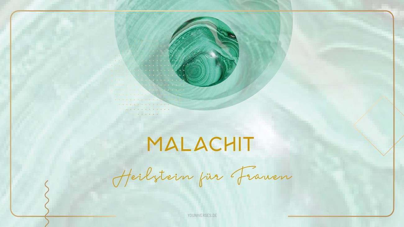 Youniverses.de Moonay Malachit – Wächter des Herzens. Edelsteine und Heilsteine für Frauen.